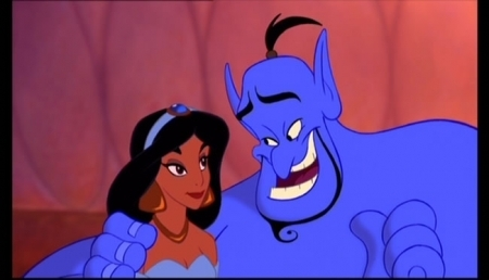 Princess jimmy, hunitumia karatasi la kupamba ukuta possibly with anime called Aladdin-Back to Normal