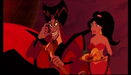 রাজকুমারি জেসমিন দেওয়ালপত্র probably with জীবন্ত called Aladdin-Jafar in Power