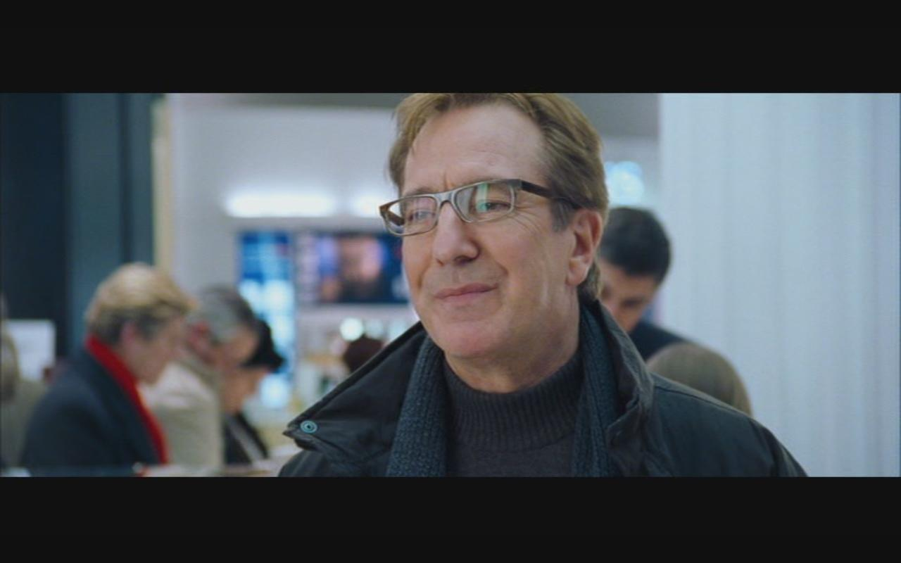 Alan Rickman- amor Actually Screenshot