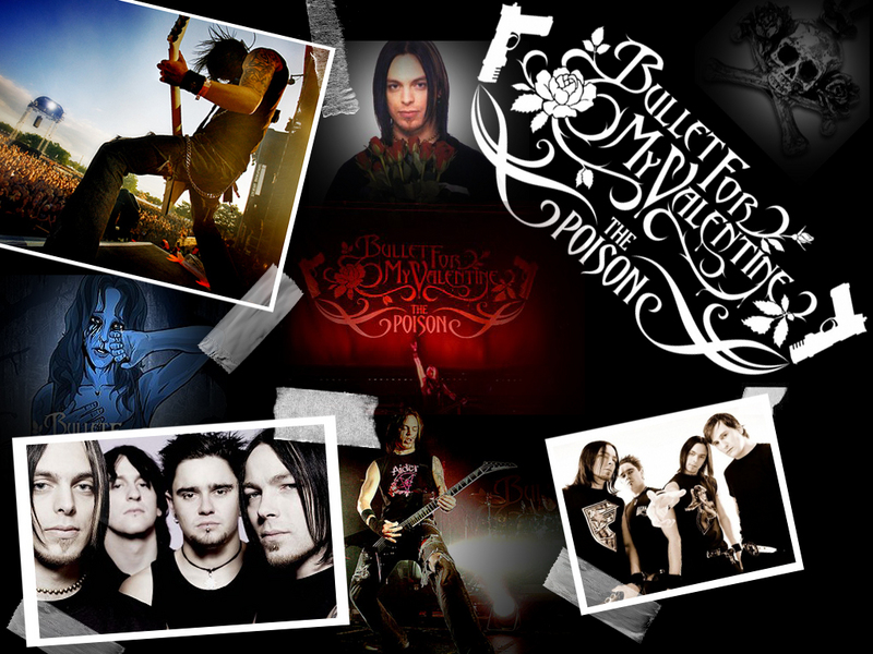 bullet for my valentine all these. All these things I hate