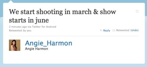 Angie Harmon's Tweet