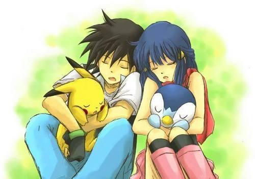 Ash and Dawn