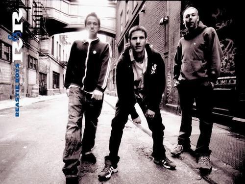 Beastie Boys fond d'écran with a rue titled B.B