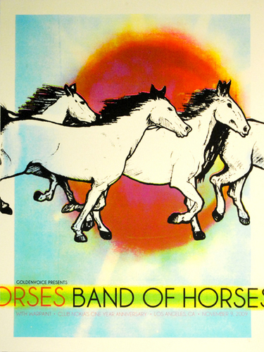 Band of chevaux Rock Poster!