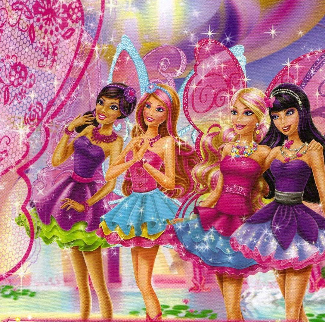 Barbie Princess Cartoon Gallery: Barbie a Fairy Secret