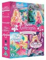 búp bê barbie Princess and Fairytopia DVD Sets (4 phim chiếu rạp each)