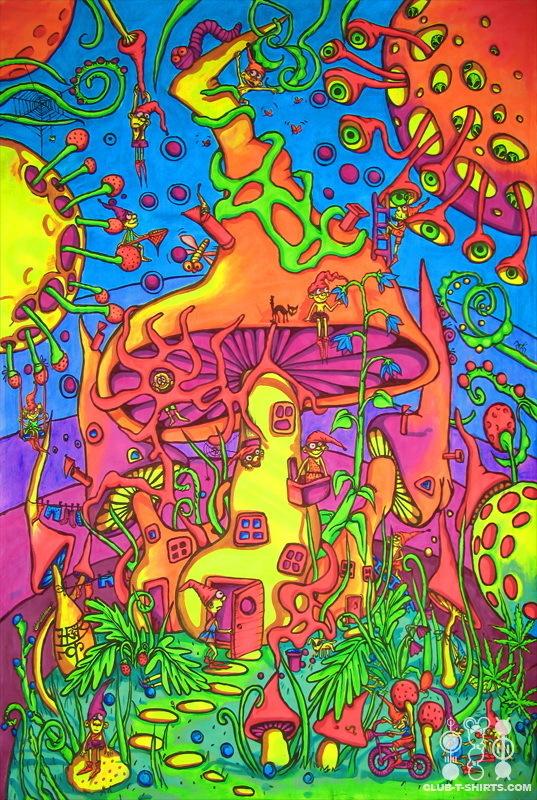 Black Light Poster Bright Colors Fan Art 18123495 Fanpop