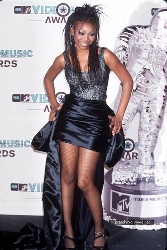 Brandy @ 15th Annual MTV Video Music Awards