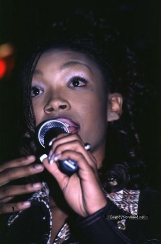 Brandy @ Debut of Ray J