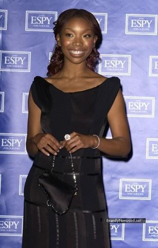 brandy @ ESPY Awards - Press Room
