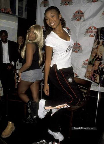 Brandy @ Launch of New Candie's Campaign