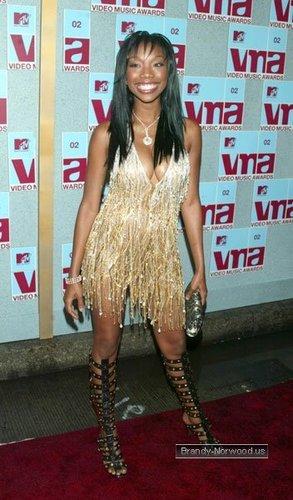 brandy @ MTV Video Music Awards - Arrivals