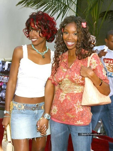 Brandy @ Premiere Of 2 Fast 2 Furious
