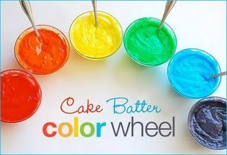 Brightly Colored Cake