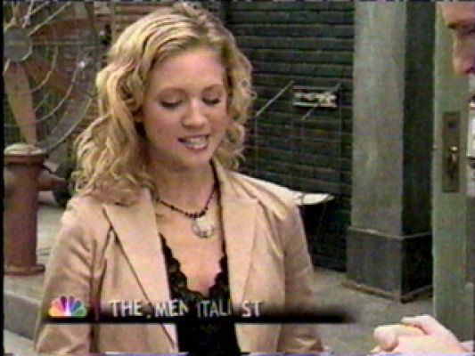 Brittany Snow being featured on The Mentalist