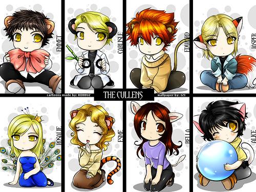 Chibi Cullens