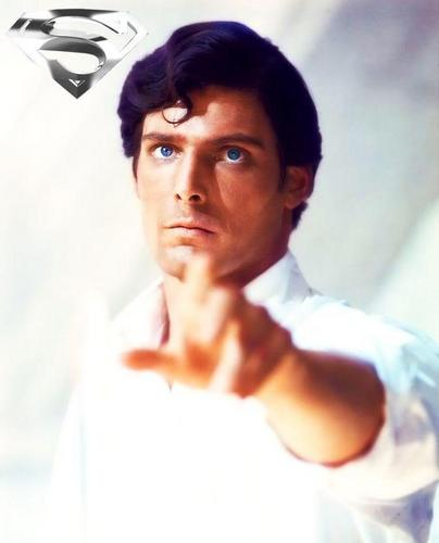 Superman (The Movie) wallpaper with a portrait titled Christopher Reeve