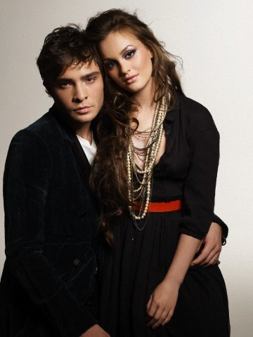 Blair & Chuck wallpaper containing a well dressed person called Chuck & Blair <3