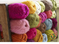 Colorful Yarn - bright-colors wallpaper