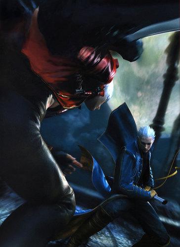 Dante and Vergil