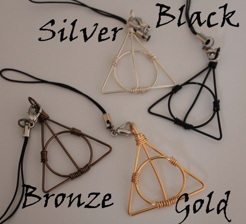 Deathly Hallows mobile strap