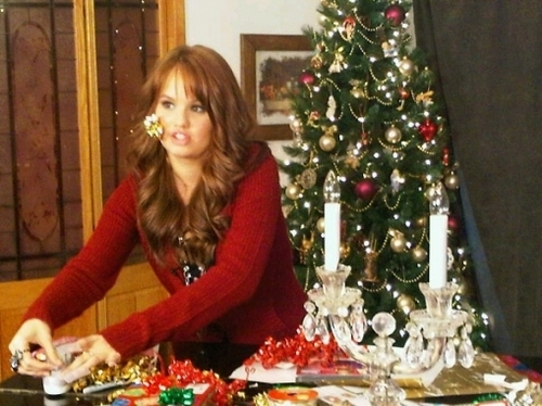 Debby Getting Ready For Christmas