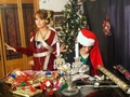 Debby Getting Ready For Krismas