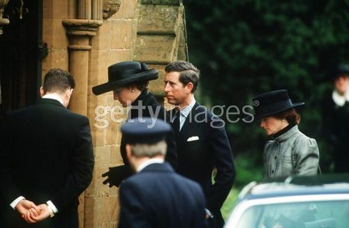 Diana At A Funeral