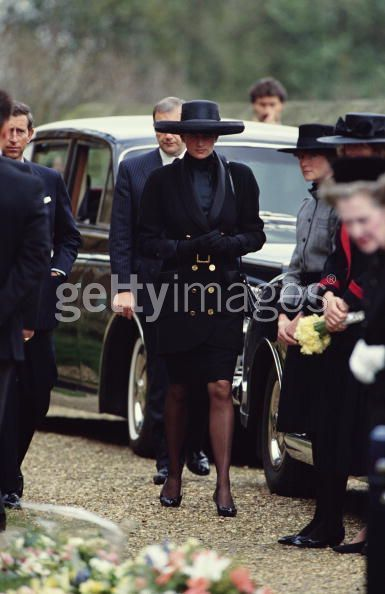 Diana At Funeral