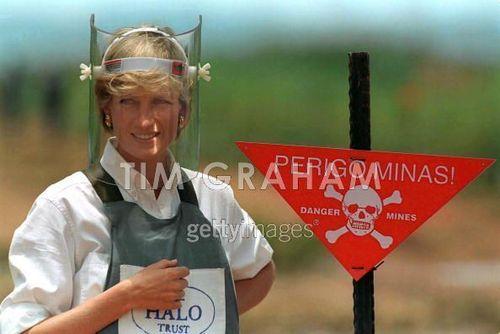 Diana Visor Mine Sign