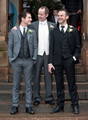 Dominic at Billy Boyd's wedding last December 29-2010 - dominic-monaghan photo