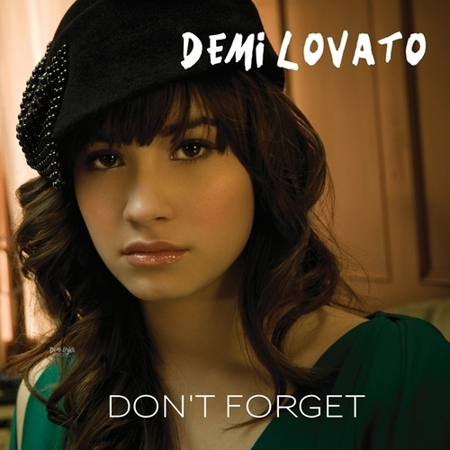 Don't Forget [FanMade Single Cover]