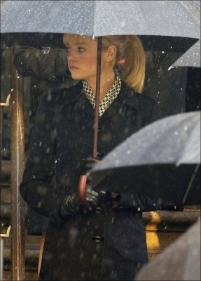 "Emma on ""Spider-Man 4"" Set"