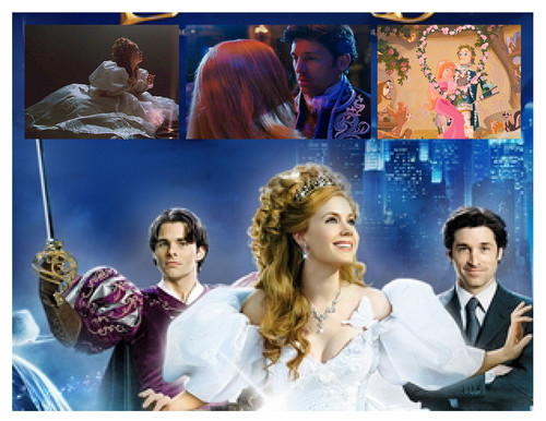 Riselle(Robert/Giselle) Enchanted wallpaper possibly containing a portrait called Enchanted