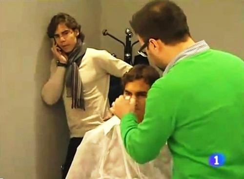 Federer Nadal makeup