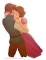 Flynn(Eugene)& Rapunzel