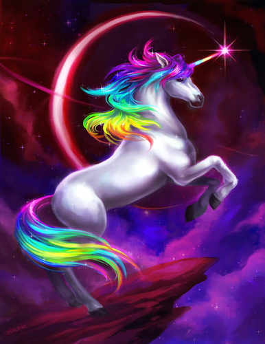 unicorni wallpaper titled Follow Your Dreams
