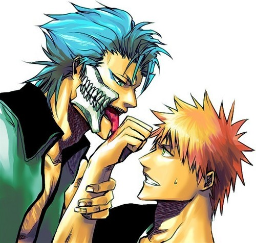 Grimmjow and Ichigo