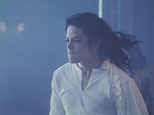 Michael Jackson's Ghosts wallpaper probably containing a well dressed person entitled HQ Ghosts