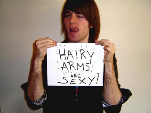 Hairy Arms Are Sexy!