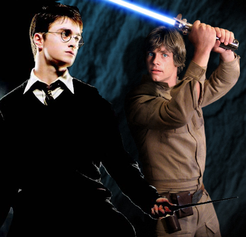Harry Potter = звезда Wars