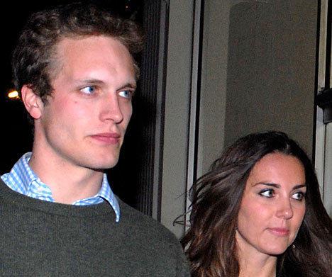 ex-boyfriend Henry Ropner and william girlfriend
