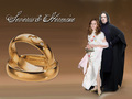 Hermine Und Severus - hermione-and-severus wallpaper