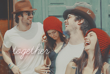 Ian Somerhalder & Nina Dobrev - Together?