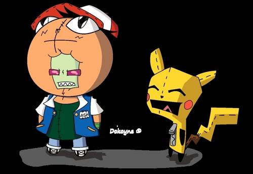 Invader Pokemon
