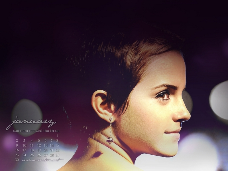 emma watson wallpapers hd 2011. January 2011 Calendar - Emma