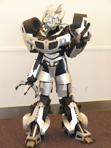 Jazz cosplay Botcon 2010