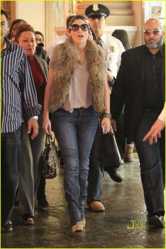 Jennifer out in Las Vegas
