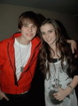 Justin and Caitlin