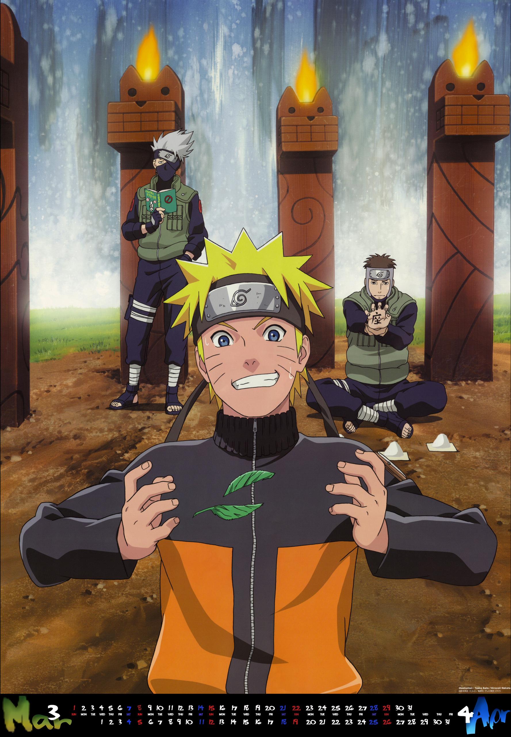 Kakashi-Naruto-Yamato - Naruto Shippuuden Photo (18122450 ...